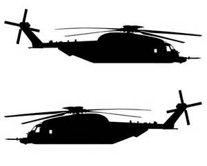 Ebay Wall Murals sikorsky mh 53 pave low aviation silhouette vinyl decal