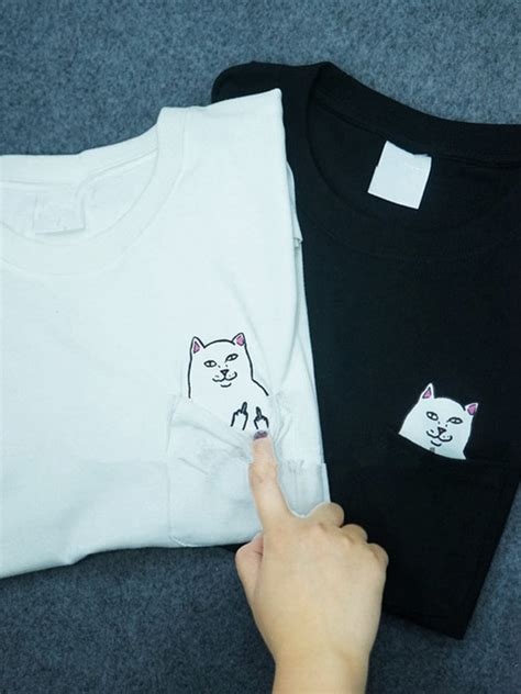 T Shirt Original Cat And Card Maxcyber cat pocket t shirt from brave store on storenvy