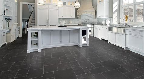 slate kitchen floor slate tiles garage floor tiles
