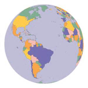 map of globe clipart political map earth globe