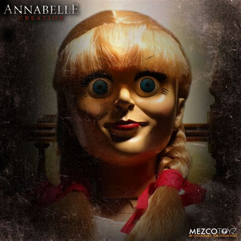 annabelle the conjuring the conjuring annabelle creation doll mezco toyz