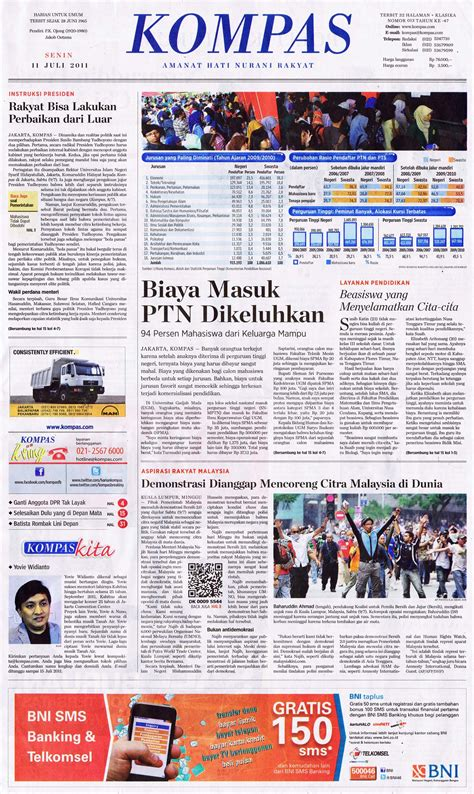 email kompas today s headlines 11 july 2011 pressclips info