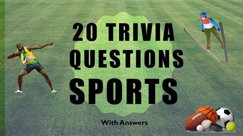 quiz questions youtube 20 trivia questions sports no 1 youtube