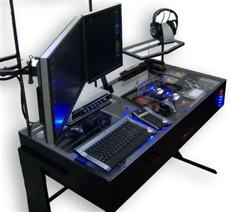 Nice Gaming Station Computer Desk On Gaming Station Gaming Station Desk