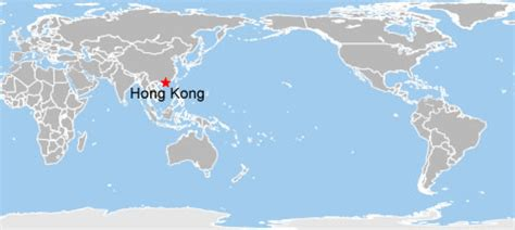 hong kong world map hong kong  world map