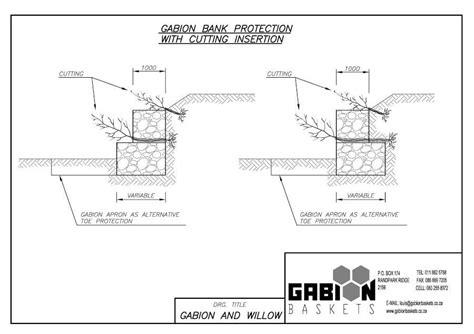 Gabion Wall Drawing