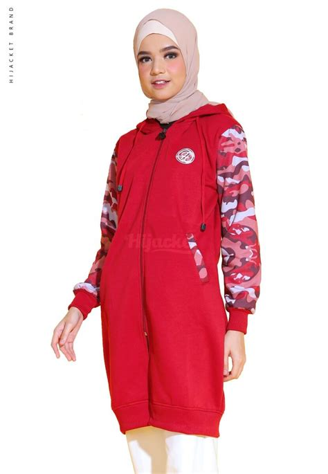 Jaket Hj Beautix Ruby camouflashion ruby distributor jaket bandung