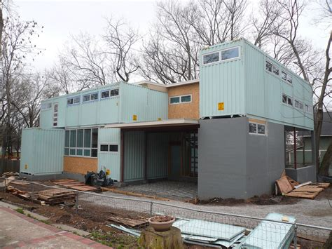 modern home design kansas city modern residence made of shipping containers in kansas