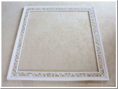 how to frame a bathroom mirror with mosaic tiles 1000 ideas about tile mirror frames on pinterest tile