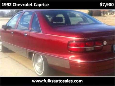 1992 chevrolet caprice used cars gosnell ar youtube