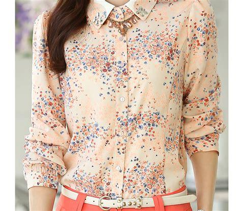 Baju Dress Cantik Brukat Bunga Putihnavy Limited kemeja wanita motif bunga cantik model terbaru jual