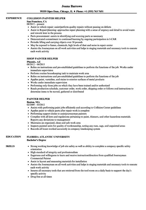 Journeyman Painter Cover Letter by Journeyman Painter Sle Resume Cover Letter Fashion Industry
