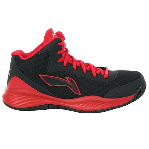 lining basketball shoes lining abpj047 3 basketball shoes black and buy
