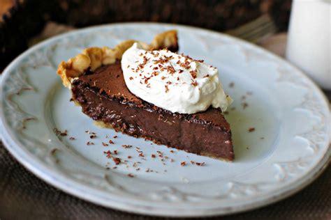 easy chocolate pie tasty kitchen blog