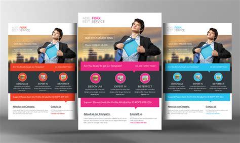 Marketing Flyer Template Flyer Templates On Creative Market Marketing Brochure Templates