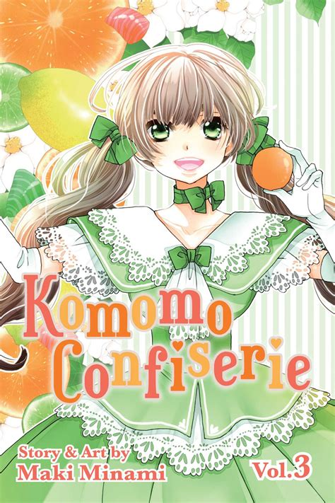 Komomos Confiserie Vol 1 komomo confiserie vol 3 book by maki minami official publisher page simon schuster uk