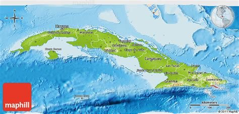 physical map of cuba physical 3d map of cuba shaded relief outside