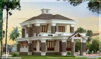 Nice House Plans by 4 Bedroom Nice Villa Elevation Kerala Home