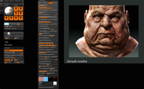 tutorial render zbrush zbrush model render settings added page 2