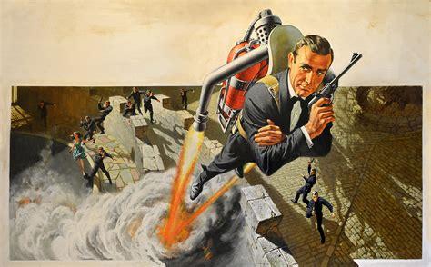 film dust up illustrated 007 the art of james bond