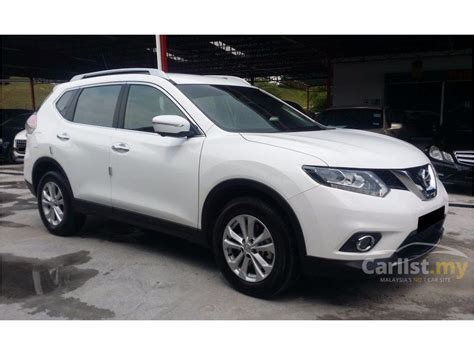 nissan x trail white 2017 nissan x trail 2017 2 5 in selangor automatic suv white