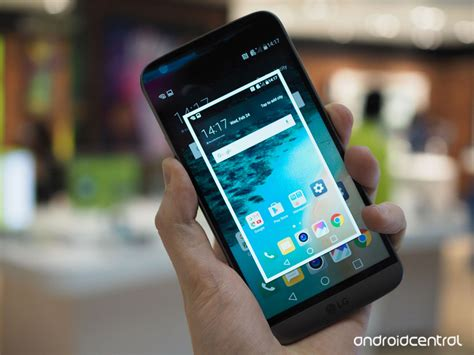 how to take a screen on an android how to take a screenshot on the lg g5 android central