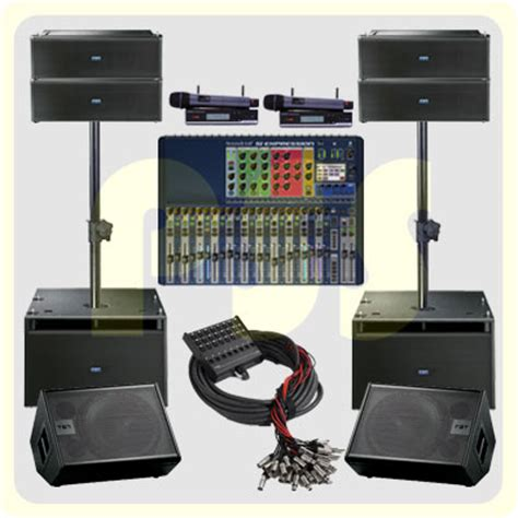 Speaker Aktif Fbt paket groundstack array fbt paket sound system profesional indonesia