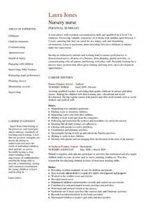 Nursery Worker Sle Resume by Nursery Cv Hashdoc