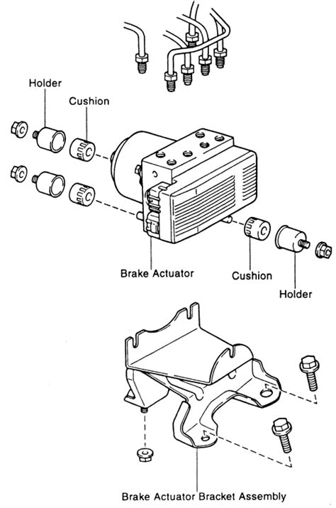 repair anti lock braking 1997 toyota corolla parking system repair guides anti lock brake system actuator autozone com
