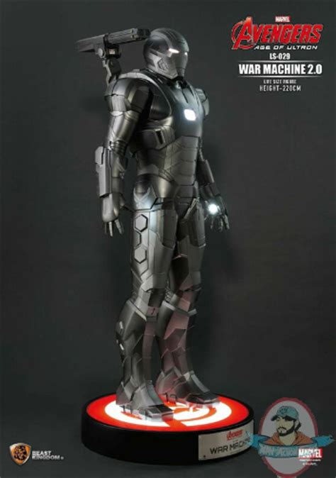 Beast Kingdom Age Of Ultron Nations Serie Limited marvel size war machine quot age of ultron quot beast kingdom of figures