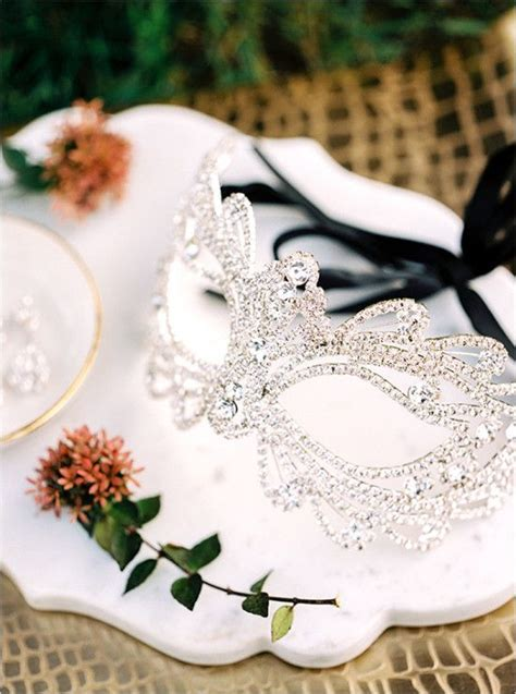 25  best ideas about Masquerade centerpieces on Pinterest