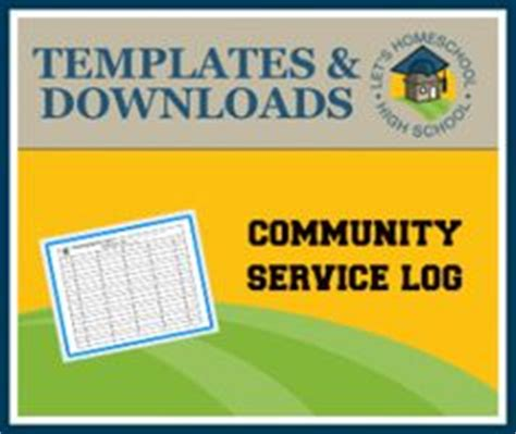 Community Service Log Students Must community service log students must complete and verify