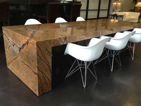elegant granite dining room table ideas table