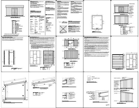 Free Shed Blueprints 12x16 by Small Run In Shed Plans 12x16 Lean To Shed Plans 12x16