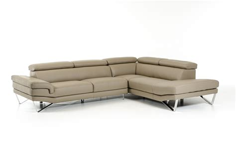 italian made leather sofas david ferrari aria grey italian leather sectional made