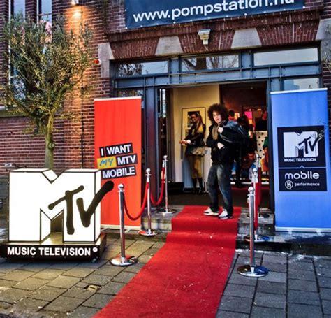 mtv mobile pr en event management mtv mobile lancering nl house of