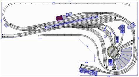 marklin ho layout design 4x8 marklin ho scale layout model train image 1 pictures