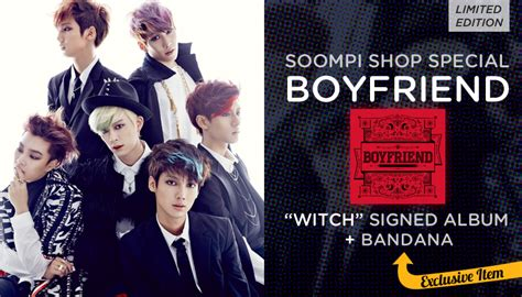 Boyfriend Janus Limited Edition Youngmin Cov soompi shop autographed boyfriend quot witch quot special package soompi