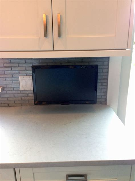 kitchen tv under cabinet mount difalco electric