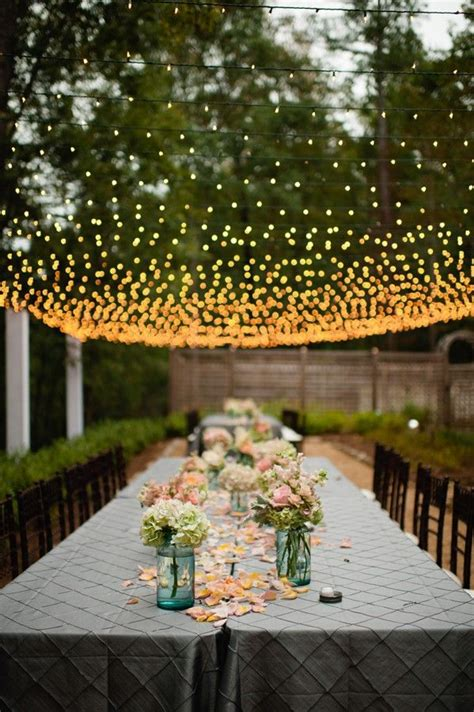 Patio Lights For Wedding Wedding Light Canopy Cheap Theme Unique