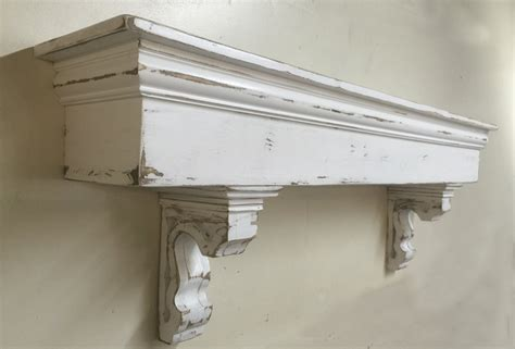 Mantel Corbels Country Mantle With Corbels Large Mantle Wooden