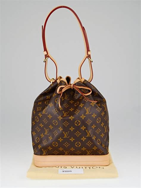 louis vuitton monogram canvas large noe bag yoogis closet