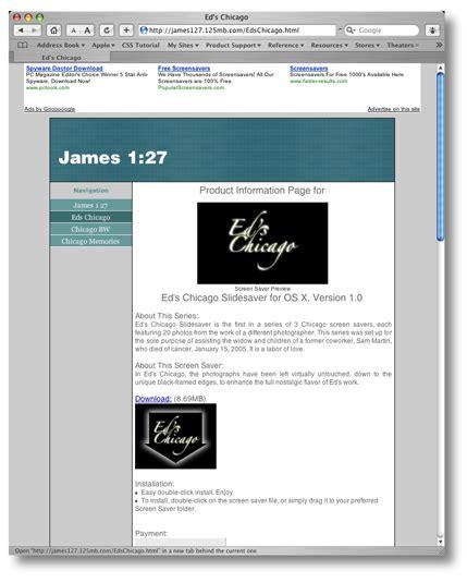 layout blog entry web design