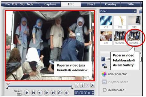 tutorial edit video dengan ulead video studio 11 asas ulead videostudio11 tutorial ulead video studio 11