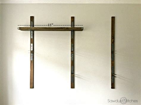 Strong Wall Shelf by Strong Tie Wall Mounted Shelves Sawdust 2 Stitches