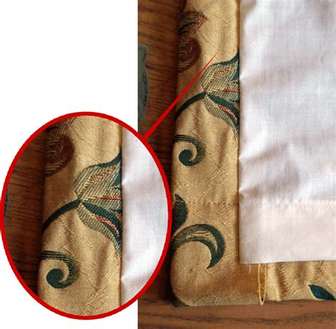 best fabric to make curtains how to make lined curtains step 7a of our guide to