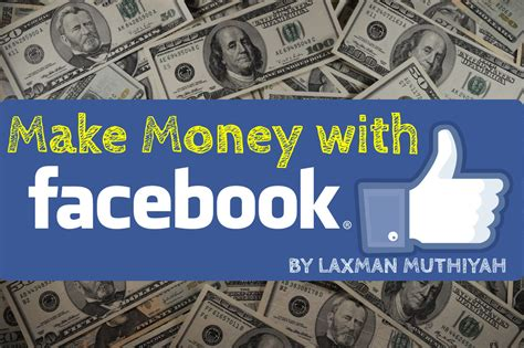 Make Money Online On Facebook - how to make money on facebook in leisure time simple steps