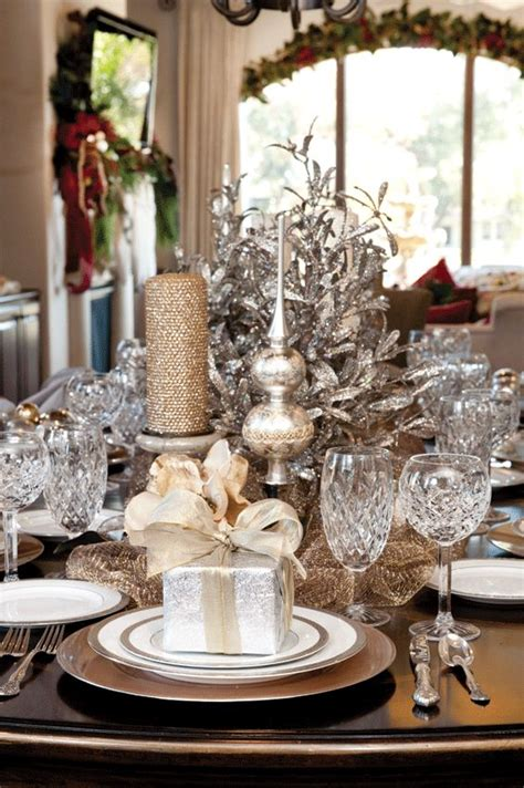 classic christmas table decoration 14 bon expose