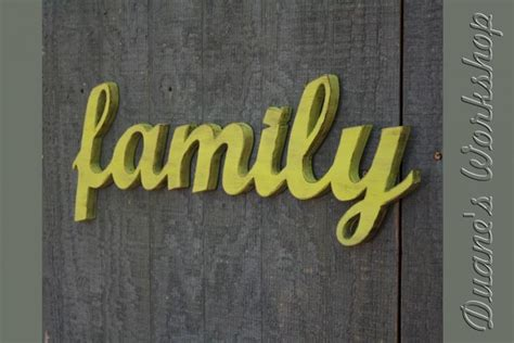family wood sign home decor family sign diy wedding decoration wall hanging cottage
