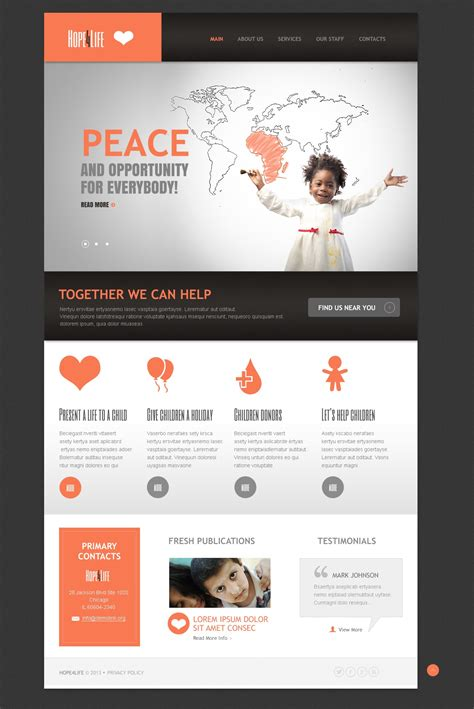 blogger templates for charity charity organization drupal template 44891